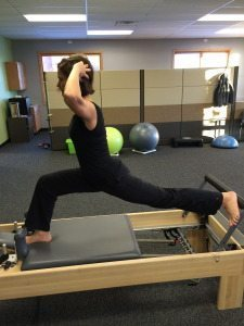 Pilates for Triathletes: leg strength cycling